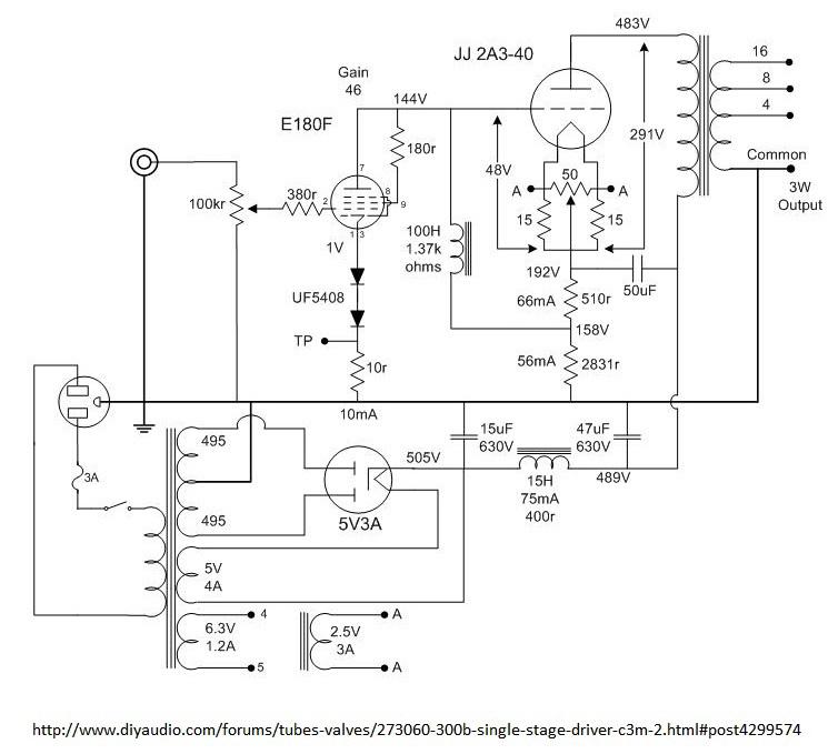 2A3 SE DRD amp