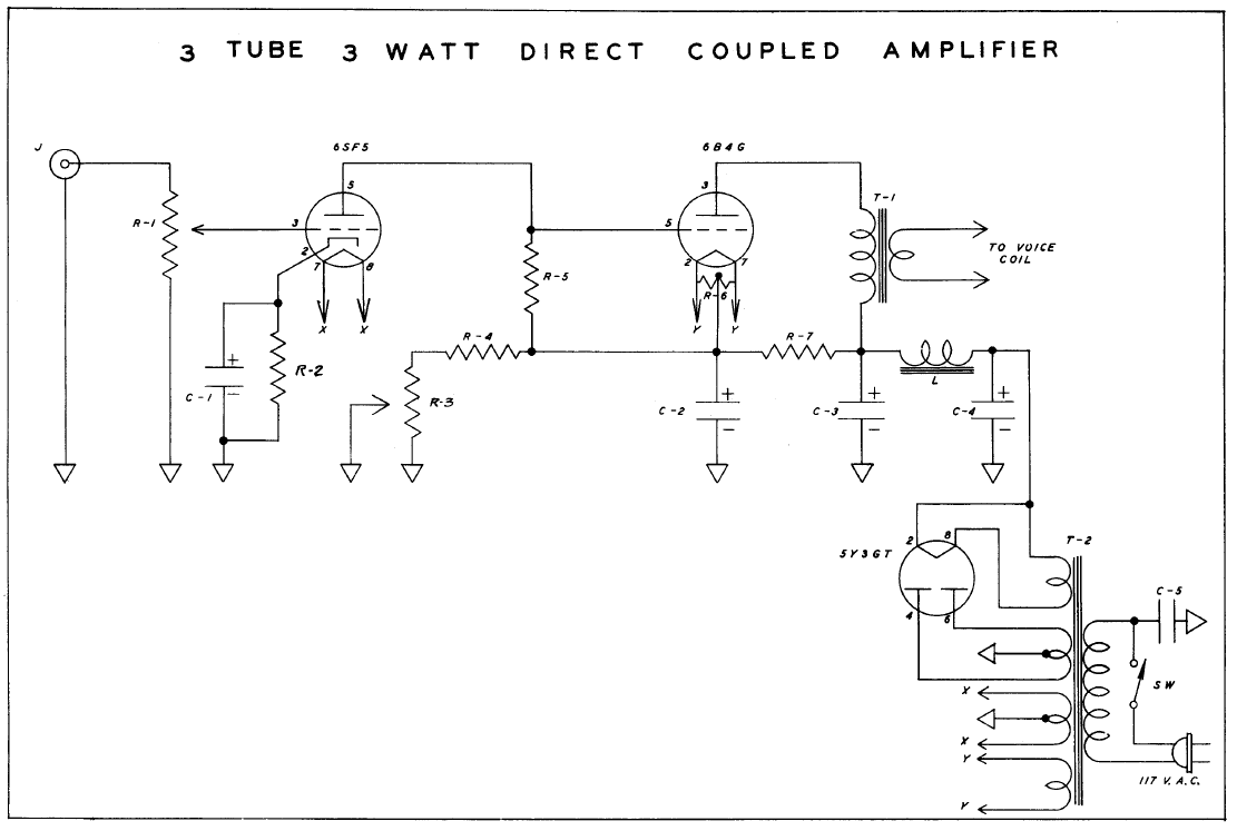 Directly coupled circuit
