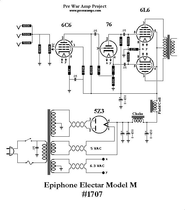 Epiphone Electar Model M Schematic (1)
